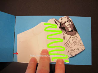 Mount Rushmore pop up card