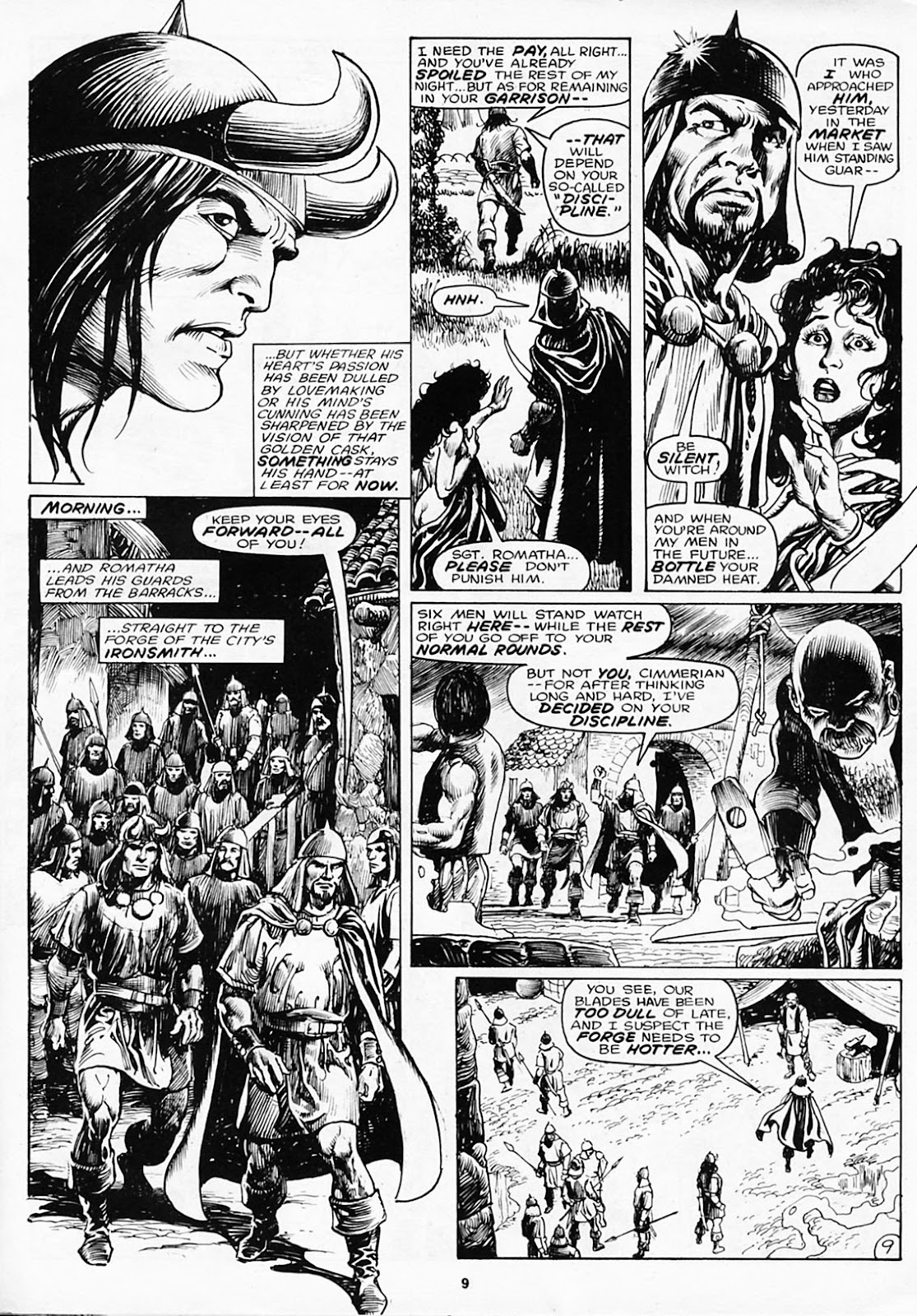 The Savage Sword Of Conan Issue #180 #181 - English 11