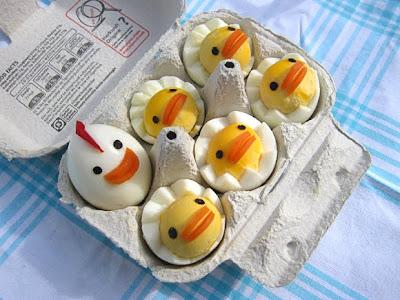 Huevos Decorados En Forma De Pollitos