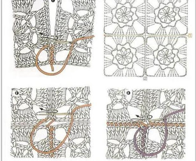 Como Unir Piezas De Tejidos En Crochet Y Dos Agujas
