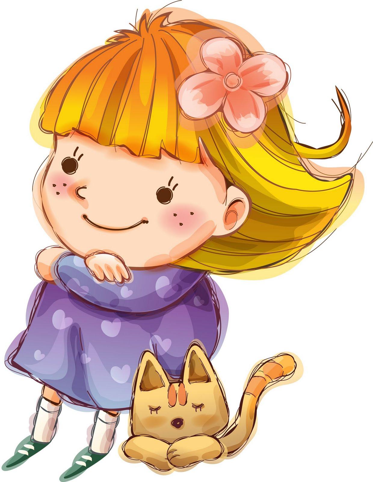 Bonitos dibujos infantiles con ni os cositasconmesh - Dibujos infantiles de bebes ...