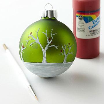 Como decorar una esfera navide a cositasconmesh - Como decorar una bola de navidad ...