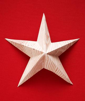 Molde De Estrella Navidena De 5 Picos
