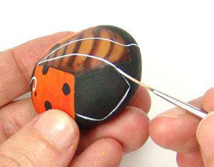 manualidades | piedras pintadas