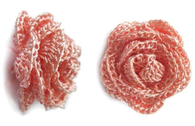Flores a crochet con patrones ~ cositasconmesh