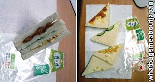 timos en japon: sandwich increíble