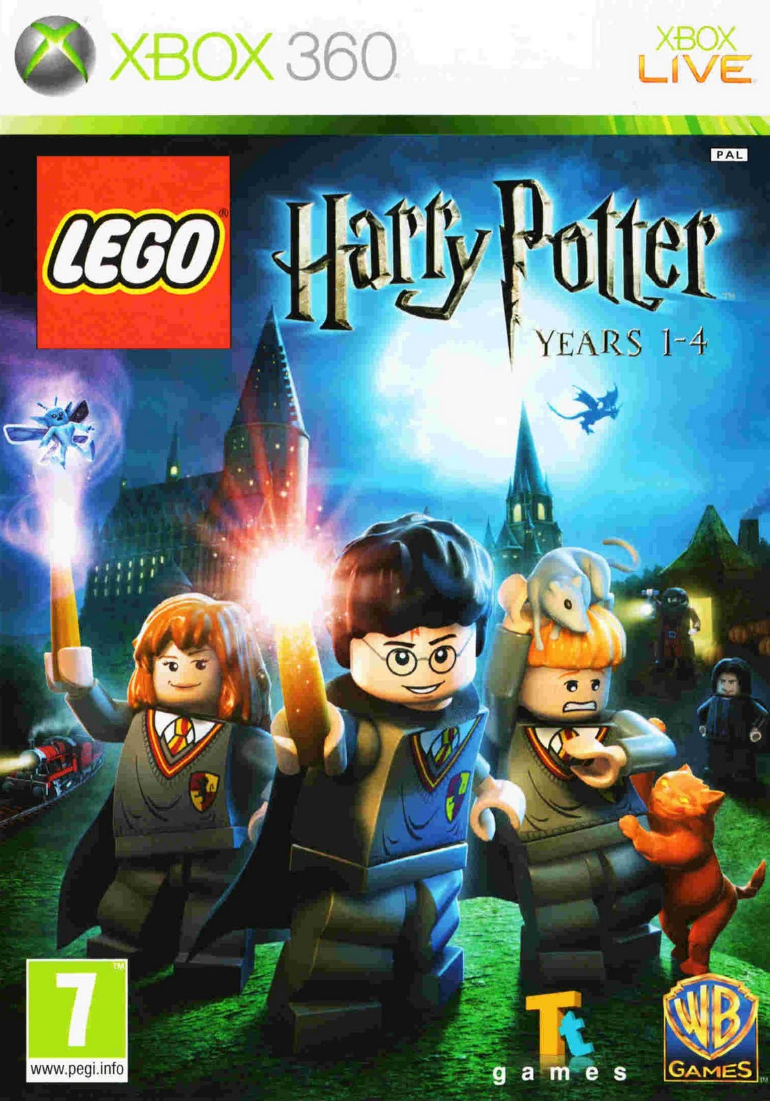 shipping lego harry potter years 1 4 comes