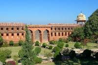 Royal gardens at Jaigarh fort