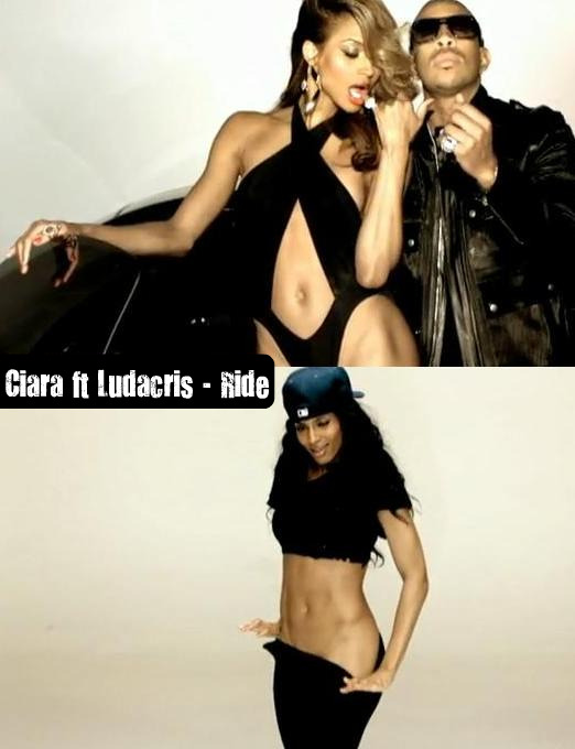 Ciara! This chick! Her body is ridiculous! Like if God came down and was ...