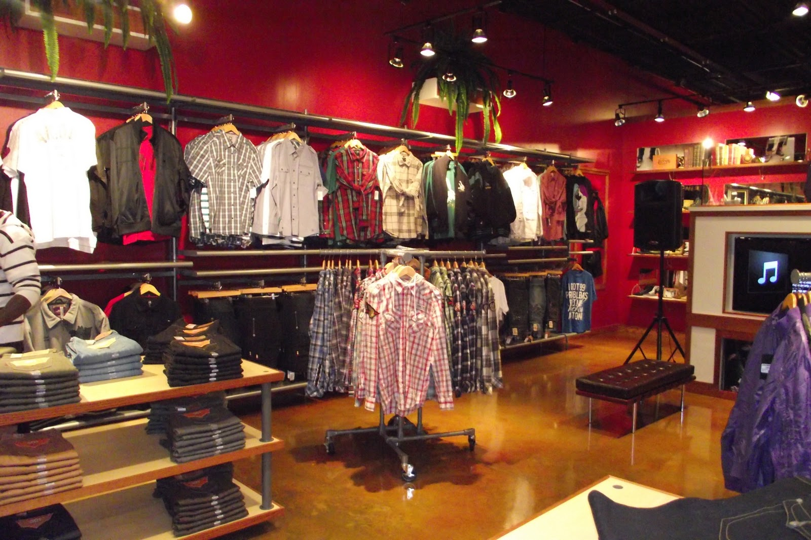 New clothing stores