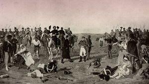 'Batalla de Las Piedras', óleo de Juan Manuel Blanes, extraído de Wikipedia
