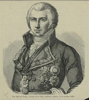 'Manuel Godoy',de la colección de grabados, impresos y fotos de Miriam e Ira D. Wallach, tomada de www.nypl.org