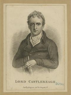 'Visconde Castlereagh', de la colección de grabados, impresos y fotos de Miriam e Ira D. Wallach, tomada de www.nypl.org