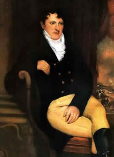 'Manuel Belgrano'de Francois Casimir Carbonnier,Londres (1815)Museo Municipal de Artes Plásticas Dámaso Arce,Olavarria. Tomada de www.todo-argentina.net