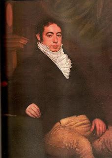 'Bernardino Rivadavia durante su estadía en Londres',s.XIX,obra de Turner (¿?)publicada en Enciclopedia Historia Argentina,extraída de wikimedia.org
