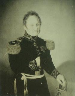 'General José Matías Deogracias Zapiola', fotografía del anciano General, extraída del libro 'Historia Argentina' de Diego Abad de Santillán