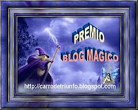 PREMIO AL BLOG MAGICO