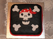 Labels: Skull and Crossbones Cake