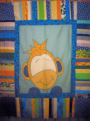 I'm participating in Mr. Monkeysuit's quilt month and thought I'd share one
