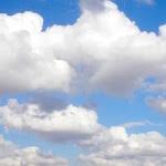 foto de nuvens
