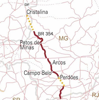 BR 357 pode ser pavimentada em Goiás