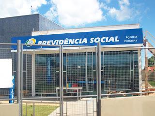 Agência da Previdência Social (INSS) de Cristalina já está em funcionamento