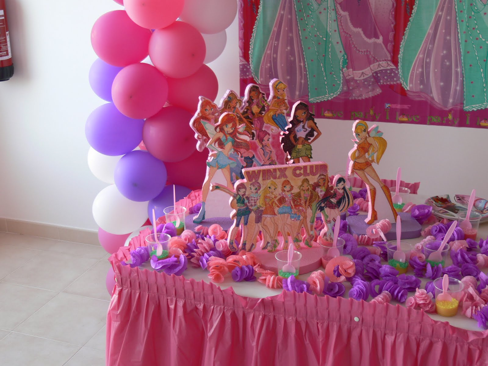 decoracao festa winx:Decoração das Winxs Aniversário da Kethely