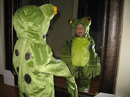 Mommy I want to be a frog when I grow up...