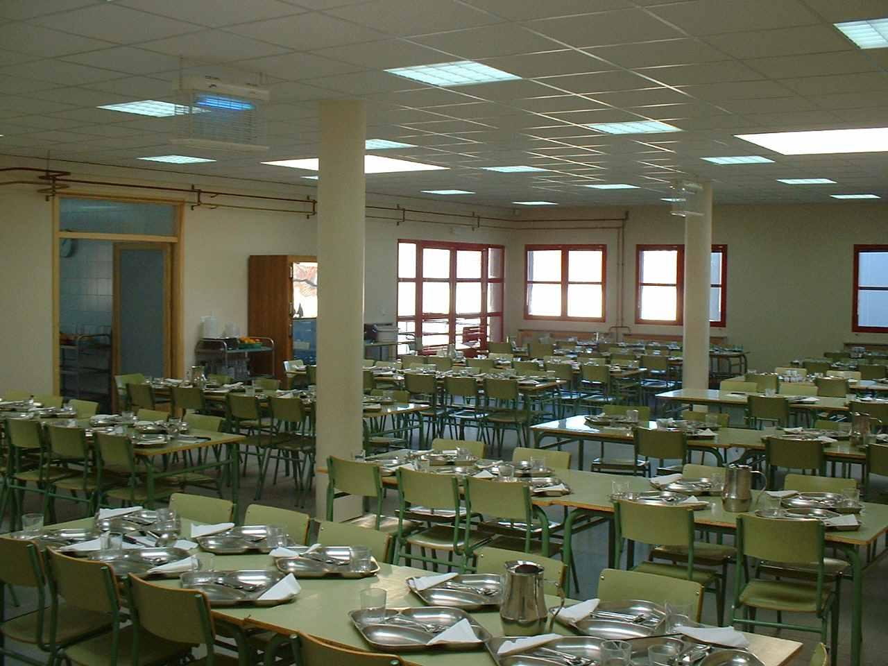 Nutrineira los comedores escolares que utilizan l nea for Comedores en linea