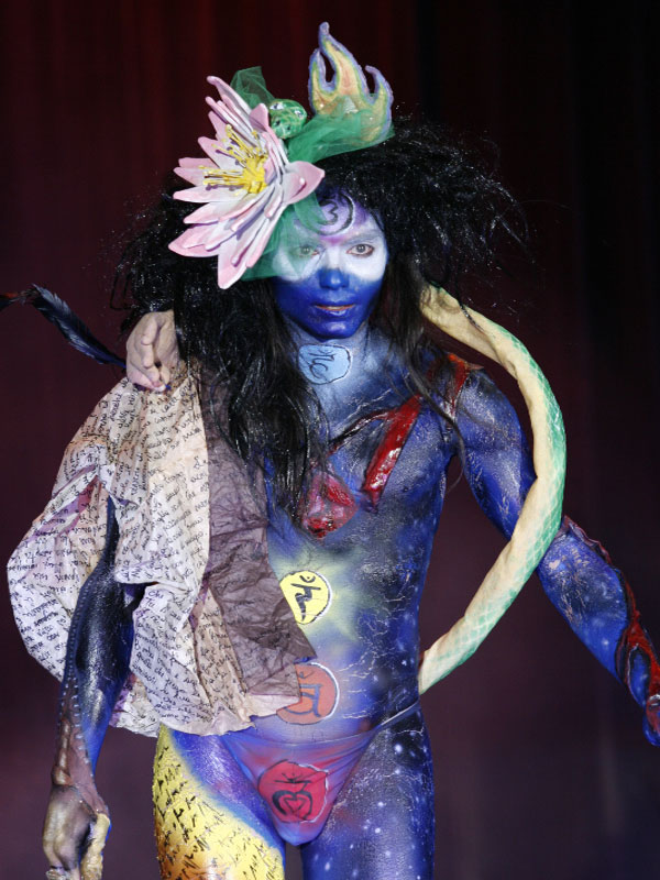 Bodypainting Festival Photo