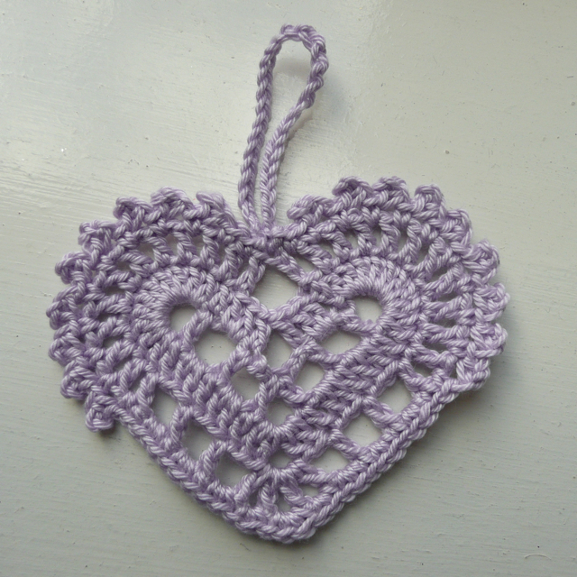 Crochet Stitches Nz : CROCHETED HEART PATTERNS Free Crochet Patterns