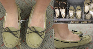 Ugg like Moccasin Slippers by Target