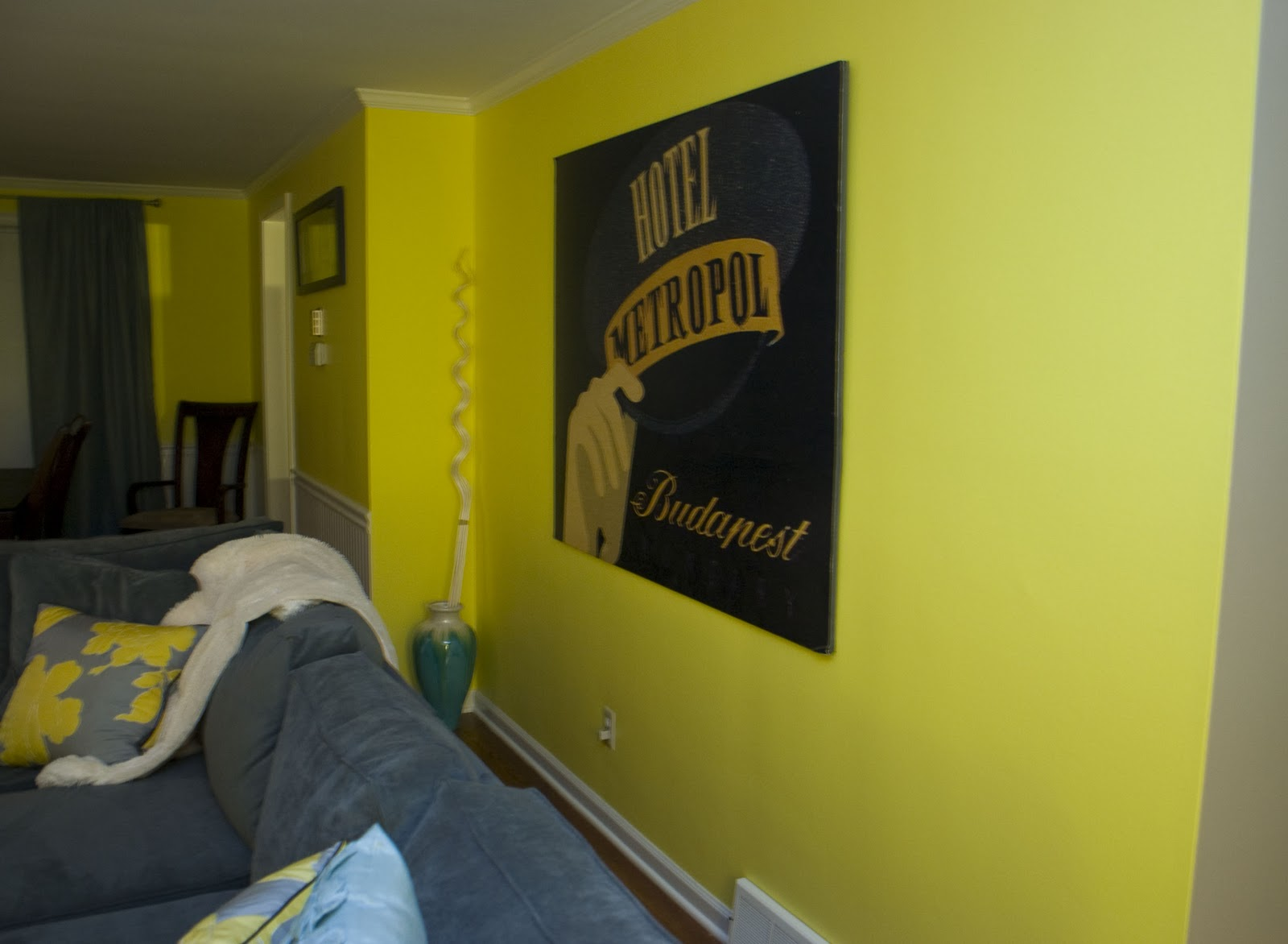 Chasing Davies: Before and After: Big Yellow Wall