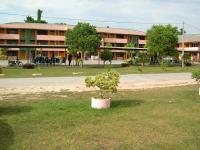 Pemandangan sekolahku dikawasan desa...