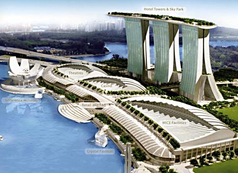alg marina bay sands - SkyPark in Singapore