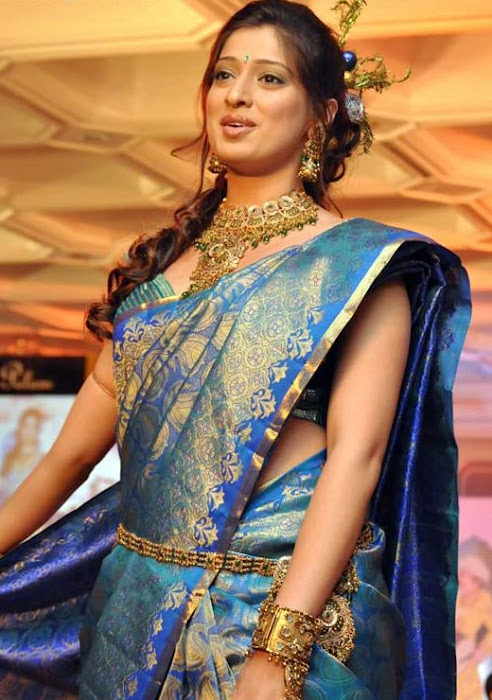 lakshmi rai in saree fashion hot images
