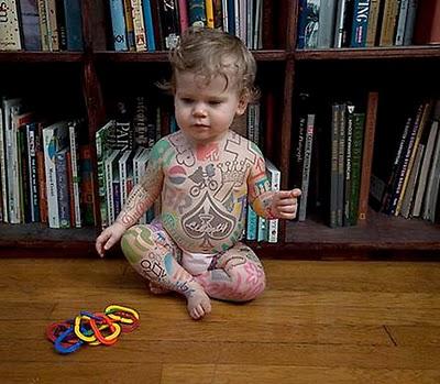 Nice Baby Tattoo