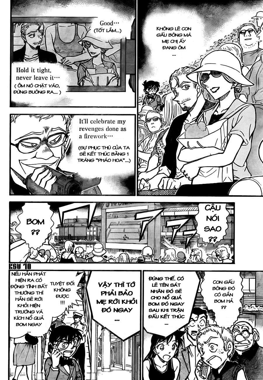 Detective Conan - Thám Tử Lừng Danh Conan chap 750 page 10 - IZTruyenTranh.com