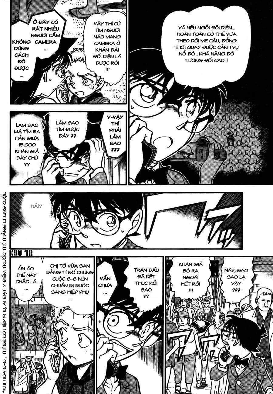 Detective Conan - Thám Tử Lừng Danh Conan chap 750 page 12 - IZTruyenTranh.com