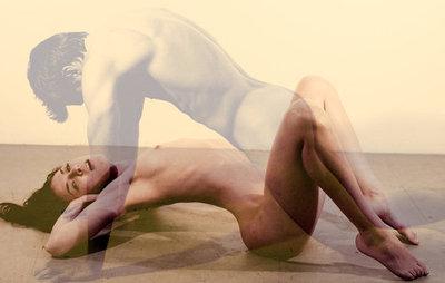 sobreposição foto corpo homem mulher sexy