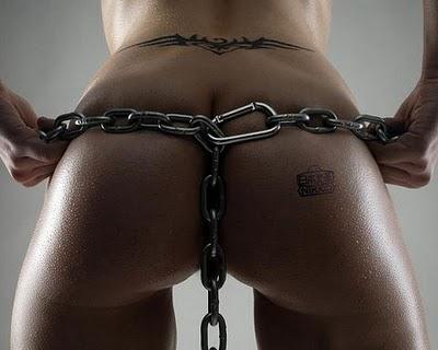 correntes cinto de castidade sexy
