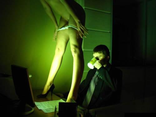striptease computador