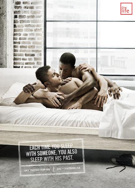 aids mãos parceiros cama gay