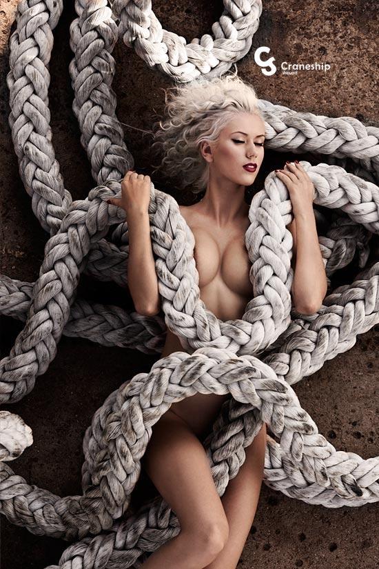 Calend Rio Mulheres Nuas Modelos Russas Barco Navio