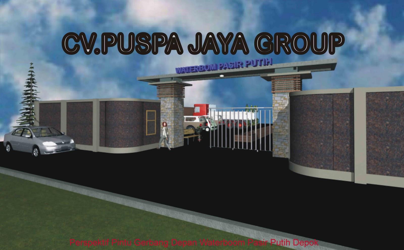 Download image Desain 3d Perspektif Pintu Gerbang Depan Loket PC ...