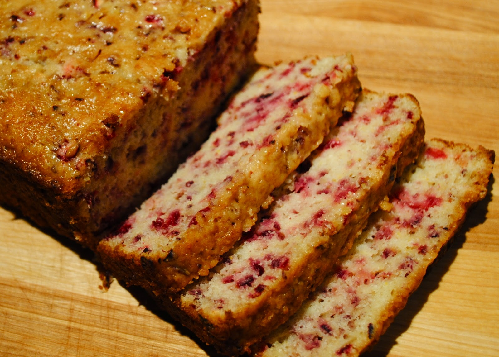 Cranberry Bread Recipe — Dishmaps