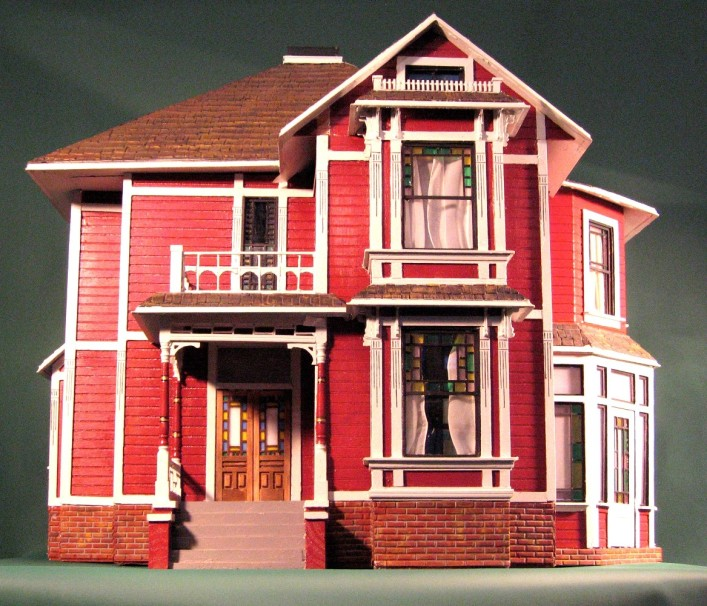 We want charmed movie halliwell manor for Charmed house blueprints