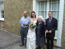my nan at my sisiters wedding