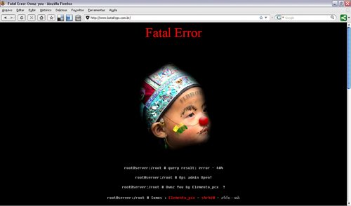 Site do Botafogo Hackeado Nesta Madrugada