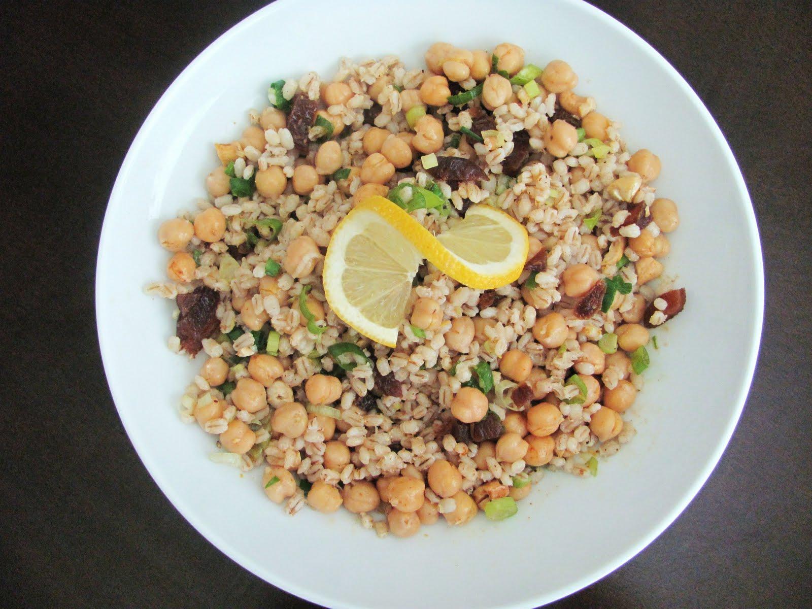 barley moroccan chickpea barley salad moroccan chickpea barley salad ...